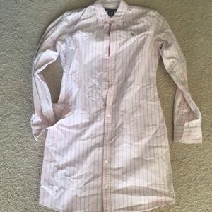 Ralph Lauren Stripe Oxford Dress size 6.